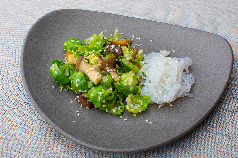 Vegan keto stir-fry