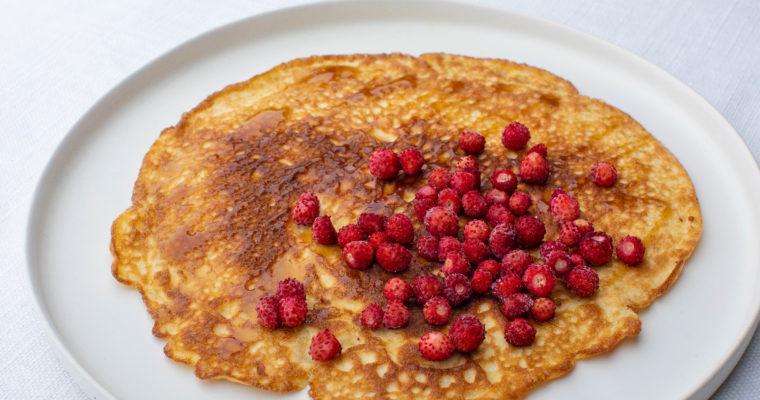 Keto cream cheese sweet pancakes